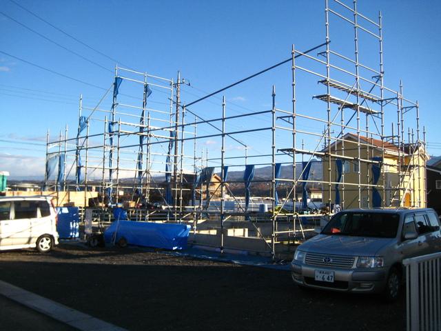 地元渋川で新築はじめました