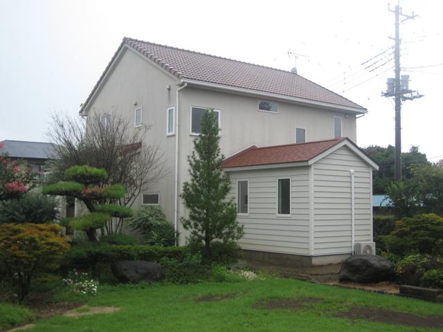 10年前に設計した家 増築工事