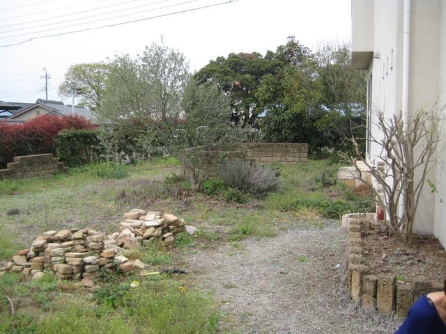 Sさんの家の庭工事