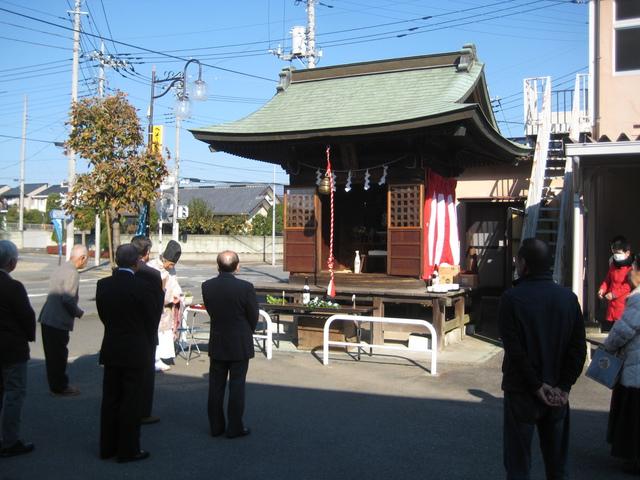 秋葉神社大祭に参加してきました